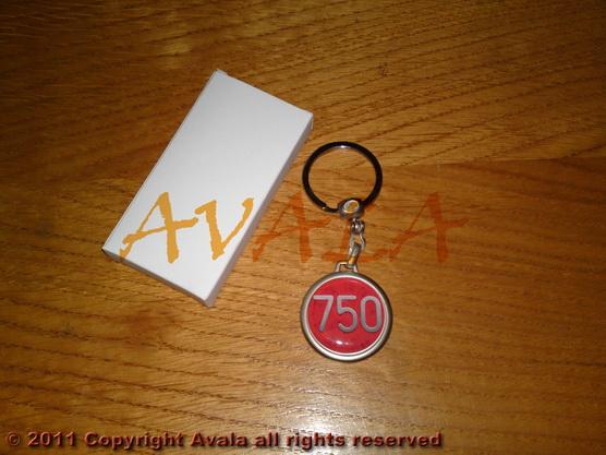 """Privezak za ključeve """"750"""" *0902265*"""