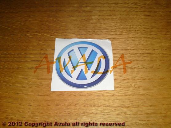 """Stiker okrugli 50mm """"VW"""" *0902336*"""