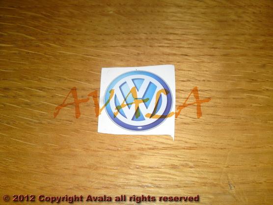 """Stiker okrugli 30mm """"VW"""" *0902368*"""