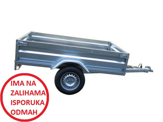 Auto-prikolica TERA 750 A205 (plastificirane stranice) *0902421*