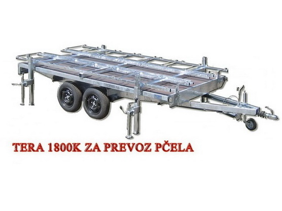 Auto-prikolica TERA 1800 K za prevoz pčela *0902525*