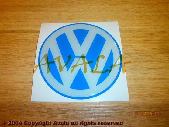"""Stiker okrugli 100mm """"VW"""" *0902737*"""