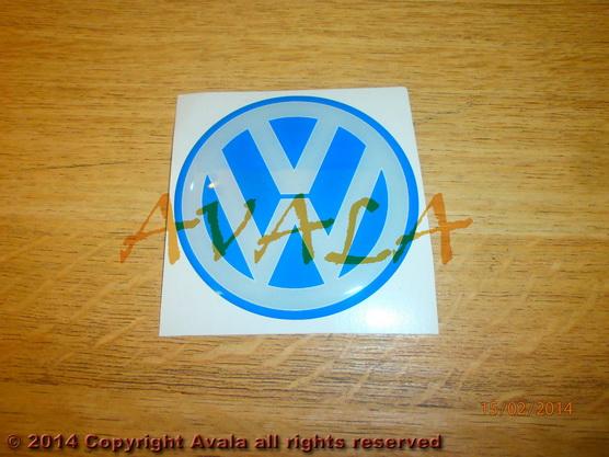 """Stiker okrugli 64mm """"VW"""" *0902744*"""