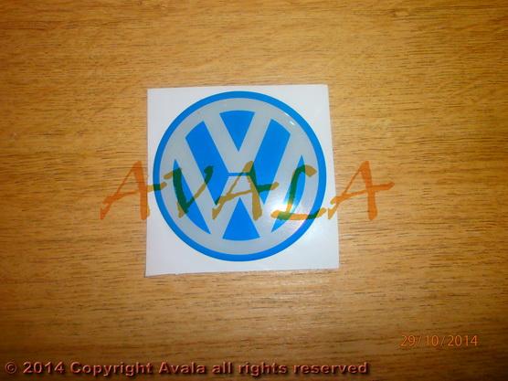 """Stiker okrugli 60mm """"VW"""" *0902857*"""