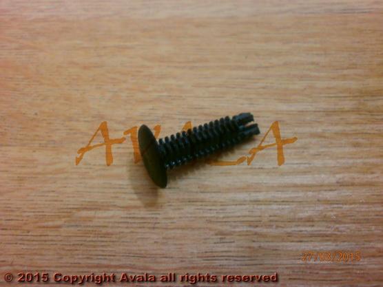 Žabica (kopča) tapacirunga crna IN *0904051*