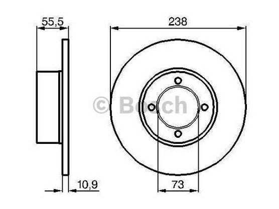Disk točka prednji *1604135*