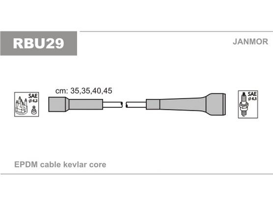 Kablovi za svećice silikonski *1801050*