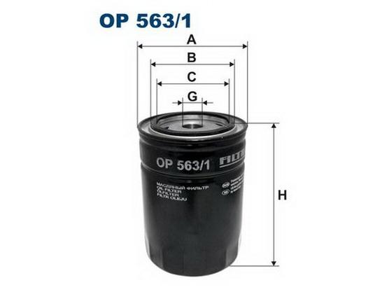 Filter ulja *2001059*
