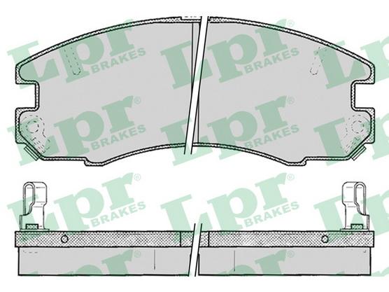 Disk pločice prednje *2204008*