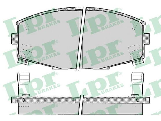 Disk pločice prednje *2204012*
