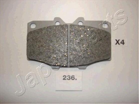 Brake pad set front, disc brake *2204041*