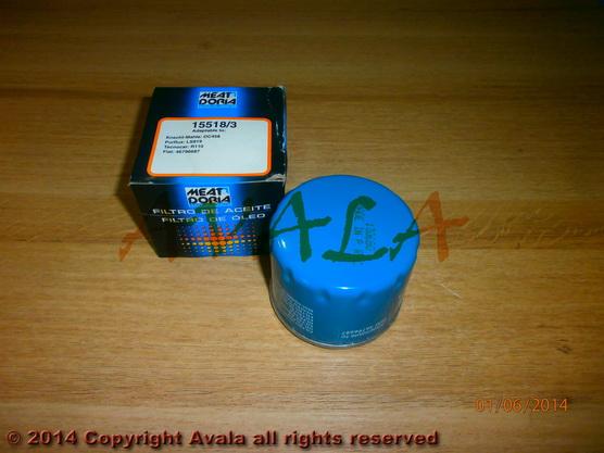 Filter ulja *2501081*