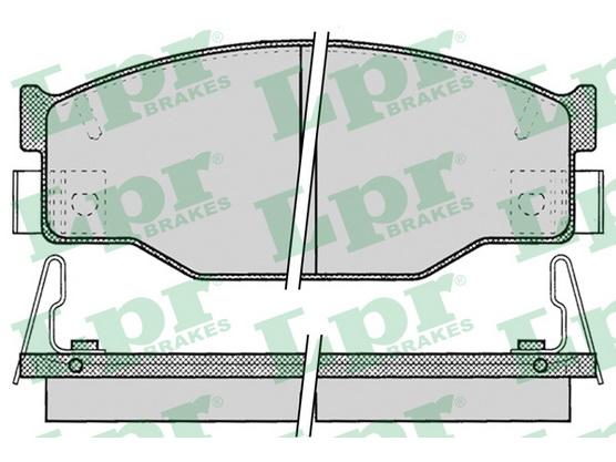 Disk pločice prednje *5904003*