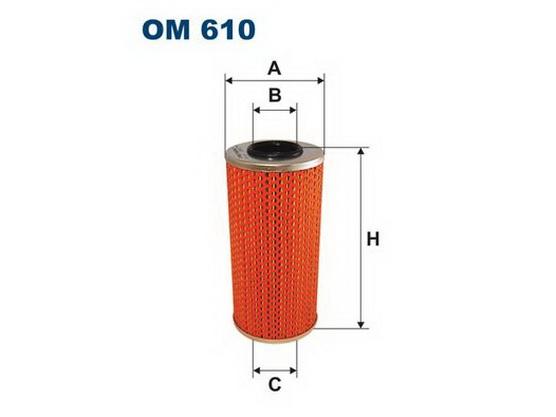 Filter ulja *6801001*