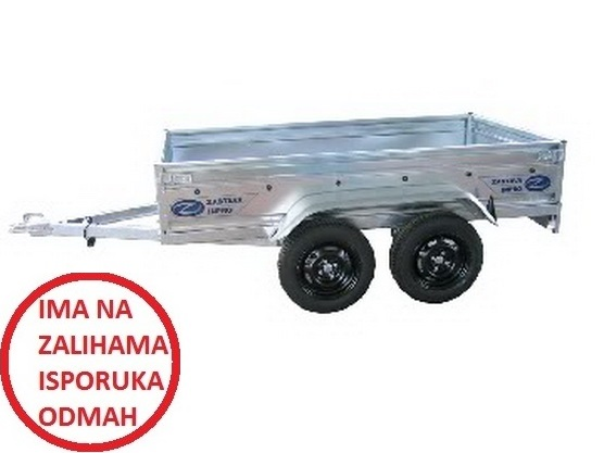 Auto-prikolica TERA 750 2A240 (plastificirane stranice) *0902427*