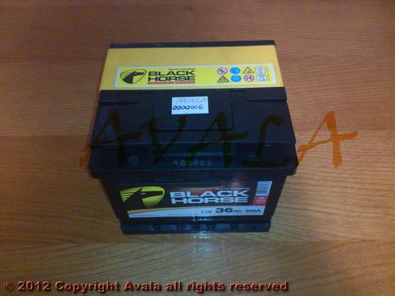 Akumulator 12V 36Ah +L 300A Black Horse *0000006*