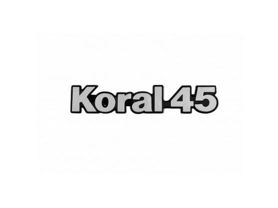 """Auto oznaka """"KORAL 45"""" *0000950*"""