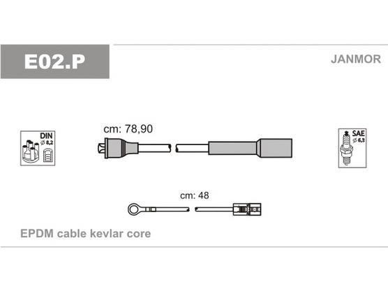 Kablovi za svećice novi tip *0101479*