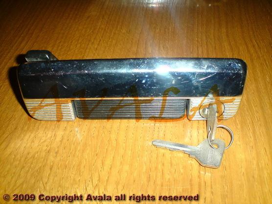 Brava (kvaka) vrata desna niklovana sa crnom ručkom *0304426*
