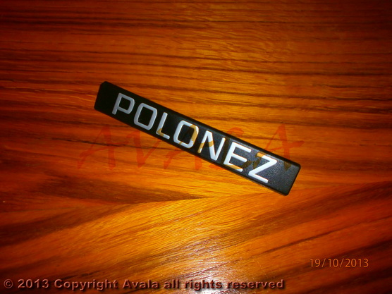 """Auto oznaka """"POLONEZ"""" *0704080*"""