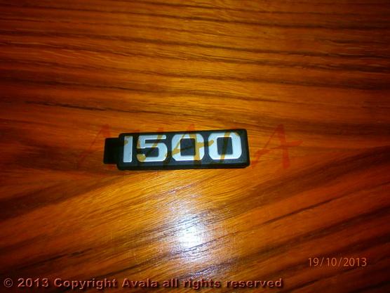 """Auto oznaka """"1500"""" *0704126*"""