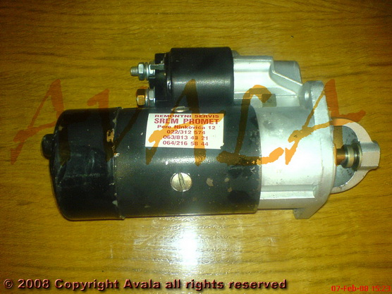Anlaser (starter - elektropokretač) *0801238*