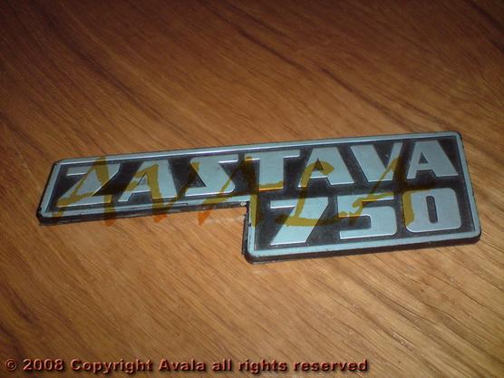 """Auto oznaka """"Zastava 750"""" *0804113*"""