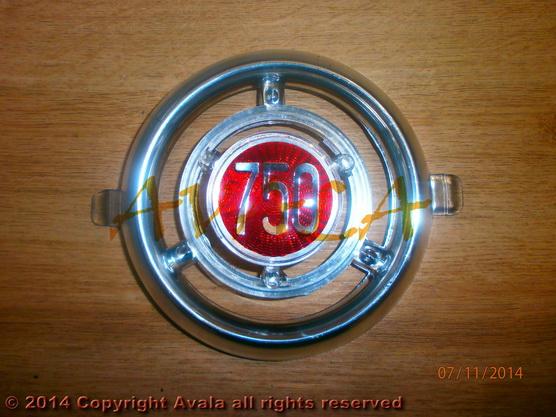 "Auto oznaka ""750"" na veznom limu stari tip *0804306*"