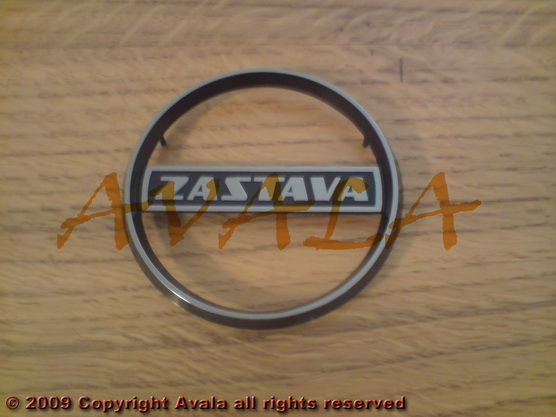 """Auto oznaka """"Zastava"""" na veznom limu novi tip *0804370*"""