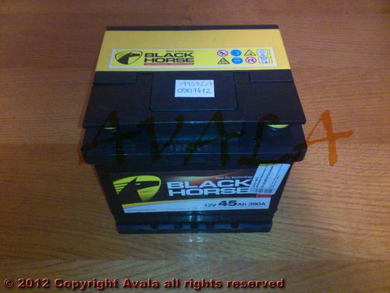 Akumulator 12V 45AH +D 390A Black Horse *0901412*
