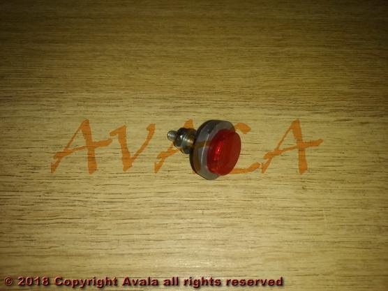 Mačje oko (katadiopter) crveno za tablicu *0901535*