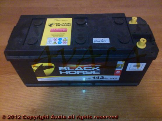 Akumulator 12V 143Ah +L 950A Black Horse *0901569*
