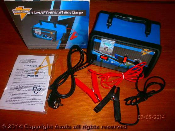 Punjač za akumulator 6A *0902070*