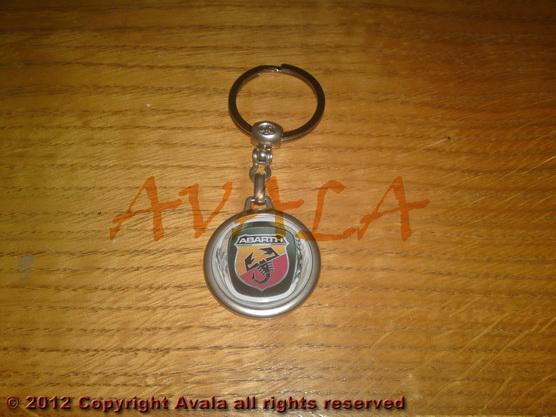 """Privezak za ključeve """"Abarth"""" (novi znak) *0902296*"""