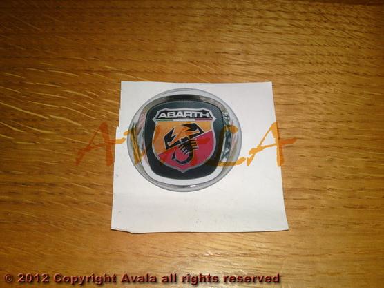 "Stiker okrugli 50mm ""Abarth"" (novi znak) *0902335*"