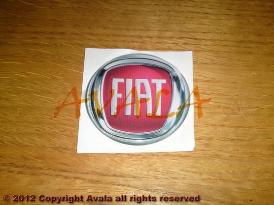 """Stiker okrugli 50mm """"FIAT"""" *0902337*"""