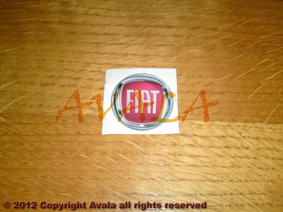 """Stiker okrugli 30mm """"FIAT"""" *0902372*"""