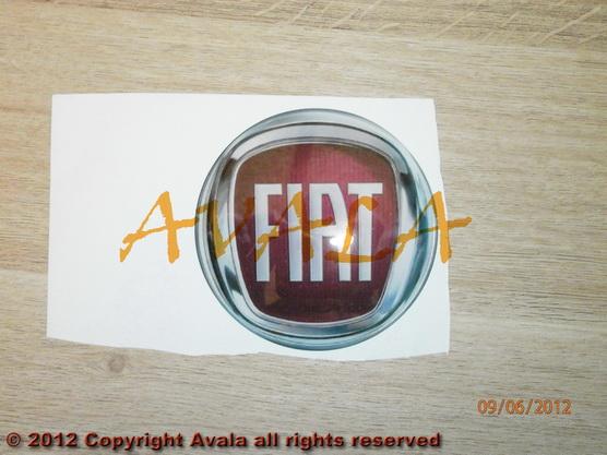"""Stiker okrugli 90mm """"FIAT"""" *0902378*"""