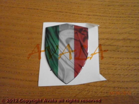 """Stiker 45x63mm """"Italija"""" *0902384*"""