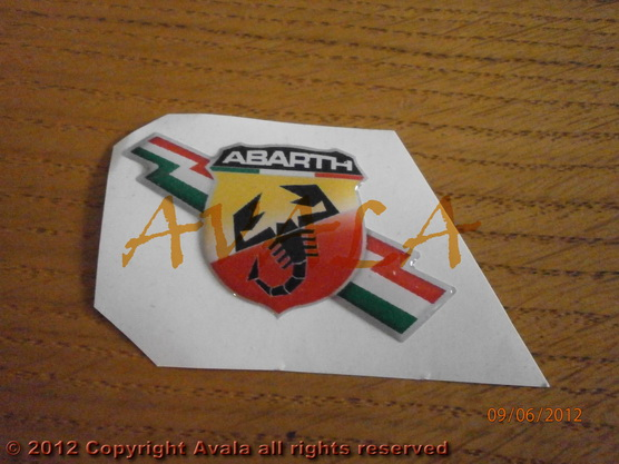 "Stiker 56x35mm ""Abarth"" *0902386*"