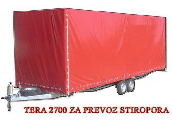 Auto-prikolica TERA 2700 za prevoz stiropora *0902526*