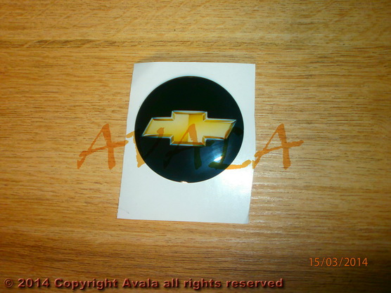 Stiker Okrugli 50mm Chevrolet 0902545 Avala Auto Delovi