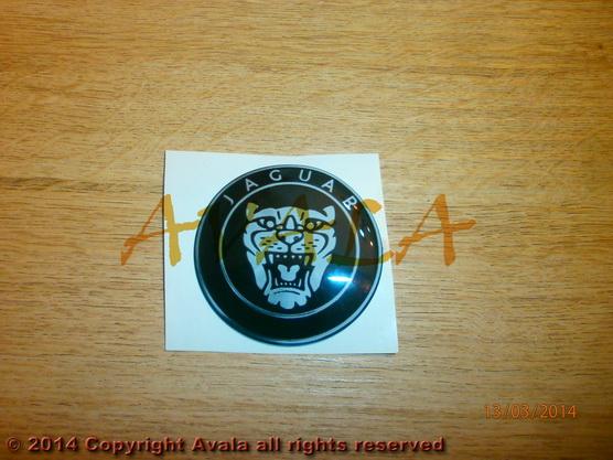 """Stiker okrugli 60mm """"JAGUAR"""" *0902552*"""