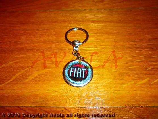 """Privezak za ključeve """"FIAT"""" (stari znak) *0902643*"""