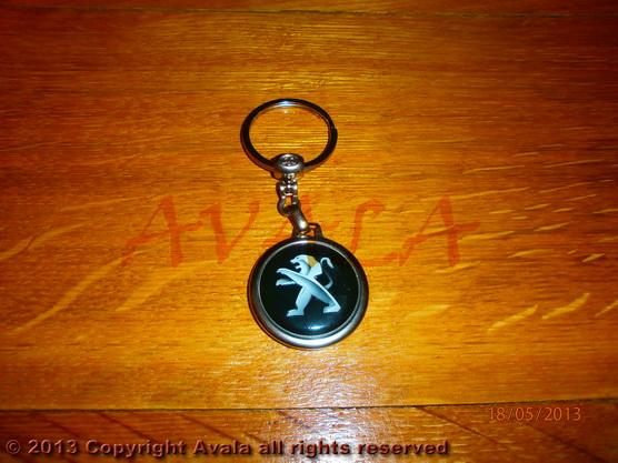 """Privezak za ključeve """"Peugeot"""" (crni) *0902645*"""