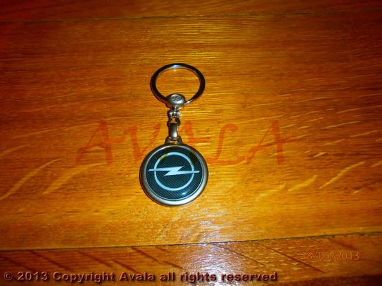 """Privezak za ključeve """"Opel"""" carbon *0902649*"""