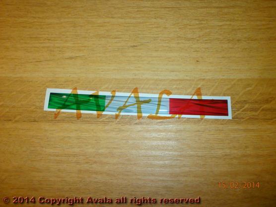 """Stiker 160x15mm """"Italija"""" *0902749*"""