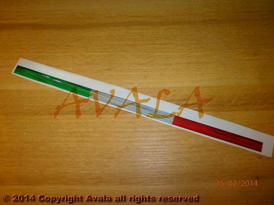 """Stiker 400x15mm """"Italija"""" *0902750*"""