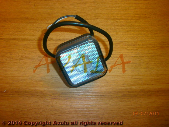 Lampa poziciona LED (gabaritno svetlo - belo) *0902751*