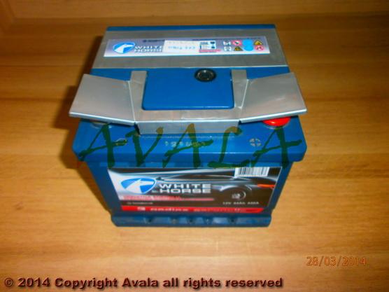 Akumulator 12V 44Ah +D 440A White Horse *0902775*